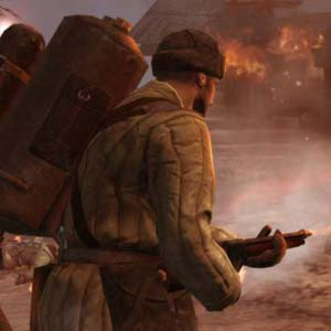 Company of Heroes 2 -Flammenwerfer