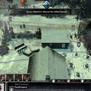 Company of Heroes 2 Ardennes Assault Screenshot: Rescue the Allied Squads