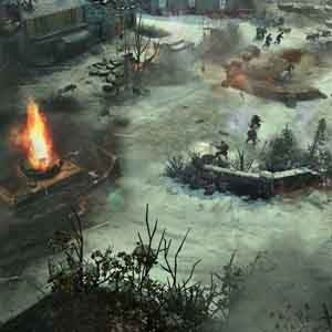 Company of Heroes 2 Ardennes Assault Screenshot: Battle field