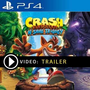 Crash Bandicoot N Sane Trilogy PS4 Digital Download und Box Edition