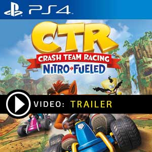 Crash Team Racing Nitro-Fueled PS4 Digital Download und Box Edition