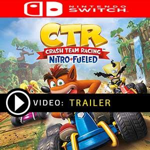Crash Team Racing Nitro-Fueled Nintendo Switch Digital Download und Box Edition