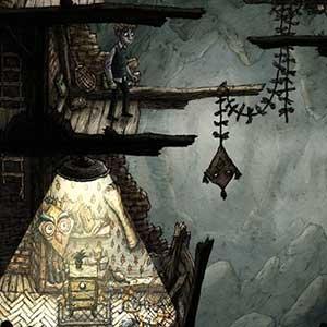 painterly subterranean world