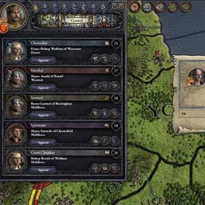 Crusader Kings 2 - Player HUD