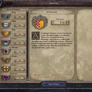 Crusader Kings 2 - Spiel ist aus