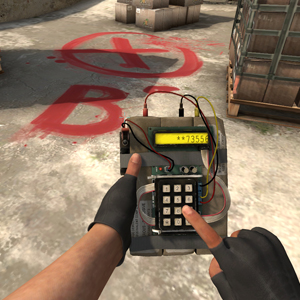 Counter-Strike: Global Offensive bombardieren