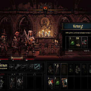 Darkest Dungeon Schlacht