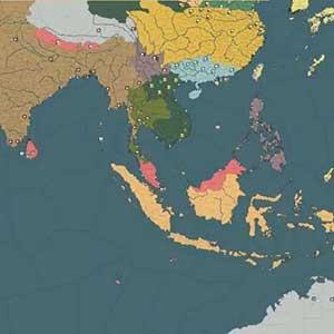 Karte des Krieges