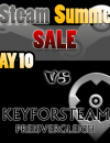 Steam Summer Sale vs Keyforsteam Day 10