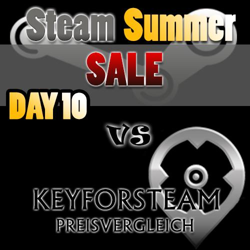 Steam Summer Sale vs Keyforsteam Day 10