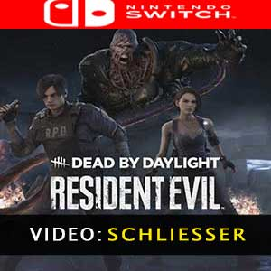 Dead by Daylight Resident Evil Chapter Nintendo Switch Video Trailer