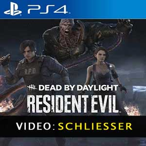 Dead by Daylight Resident Evil Chapter PS4 Video Trailer