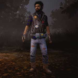 Dead By Daylight: Jake in Flicken Denim-Jacke und Lederhose