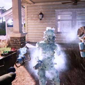Dead Island 2 gefrorene Zombie-