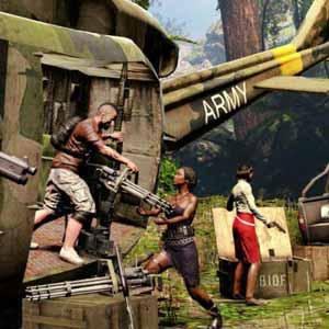 Dead Island Riptide - Hubschrauber