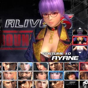Dead or Alive 5: Last Round Ayane Kostüm