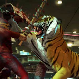 Dead Rising 2 Mit Blick auf Tiger