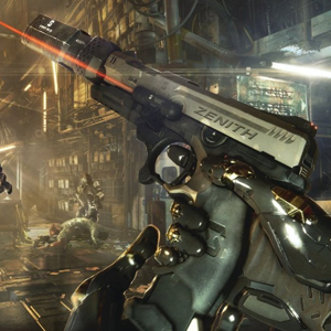 Deus Ex Mankind Divided Xbox One - Pistole
