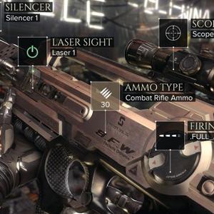 Deus Ex Mankind Divided Xbox One - Bewaffnung