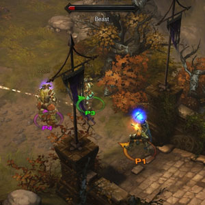 Diablo 3 Xbox One Umgebung