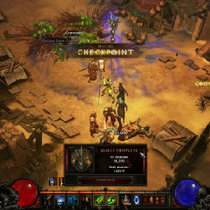 Diablo 3 Gameplay Image