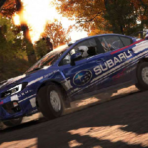 Klassisches Rallye-Rennen