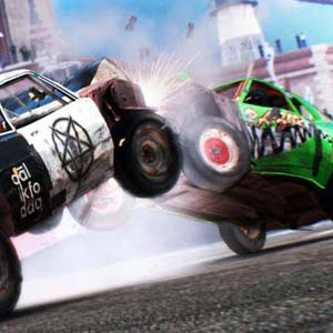 Dirt Showdown - Absturz