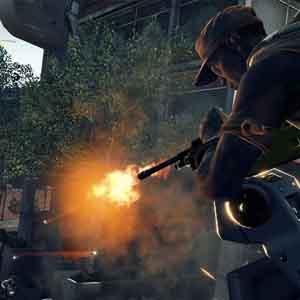 Screenshot: Brennen von oben