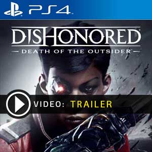 Dishonored Death of the Outsider PS4 Digital Download und Box Edition