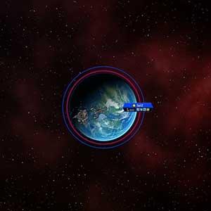 Gesamtansicht Planet Erde