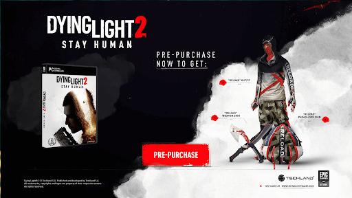 Dying Light 2 pre-order bonus Cd Key