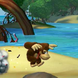 Donkey Kong Country Tropical Freeze Nintendo Wii U Springen