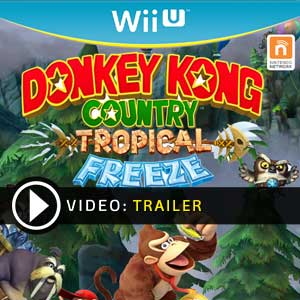 Donkey Kong Country Tropical Freeze Nintendo Wii U Digital Download und Box Edition
