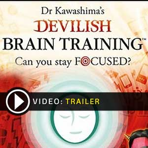 Dr Kawashimas Devilish Brain Training Nintendo 3DS Digital Download und Box Edition
