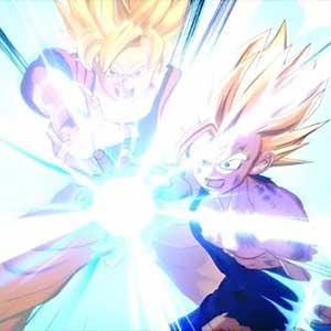 Zug mit Goku
