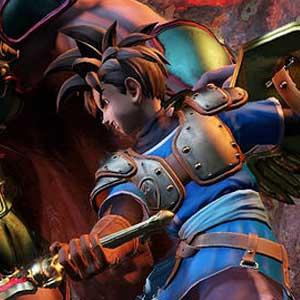 Dragon Quest Heroes Edition Kampf