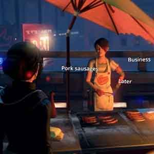 Dreamfall Chapters Screenshot: Interaktion mit NPCs