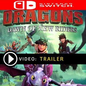 DreamWorks Dragons Dawn of New Riders Nintendo Switch Digital Download und Box Edition