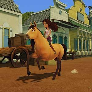 DreamWorks Spirit Lucky's Big Adventure - Reiten
