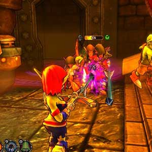 Dungeon Defenders - Attacke