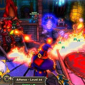 Dungeon Defenders - Buchstabieren