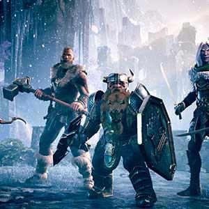 Dungeons & Dragons Dark Alliance Hauptcharaktere