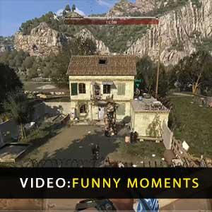 Sterbende leichte komische Momente