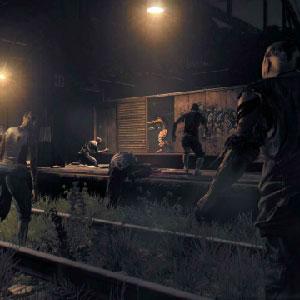 Gameplay-Bild mit abklingendem Licht