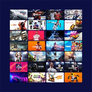 EA PLAY PRO Spiele-Katalog