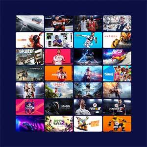 EA PLAY Spiele-Katalog