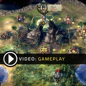 Eador Masters of the Broken World Gameplay Video