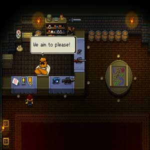 Enter the Gungeon Firearms shop