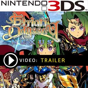 Etrian Odyssey Nexus Nintendo 3DS Digital Download und Box Edition