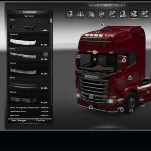 Euro Truck Simulator 2 - Truck Konfigurator